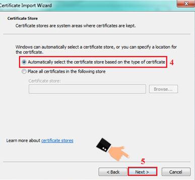 تایید گواهی SSL در مرورگر Safari