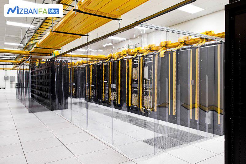 اتاق شبکه دیتاسنتر های گوگل