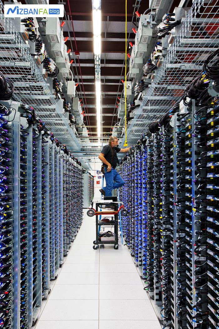 کنترل سرور ها در دیتاسنتر های گوگل