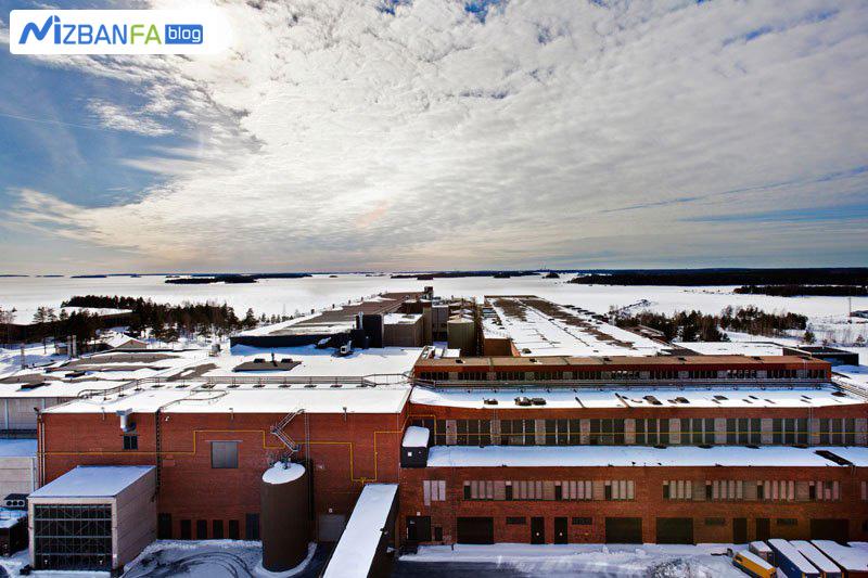 دیتاسنتر Hamina گوگل در فنلاند