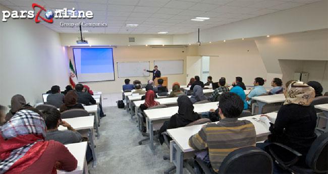 واحد های آموزشی برای کارمندان دیتاسنتر پارس آنلاین ایران