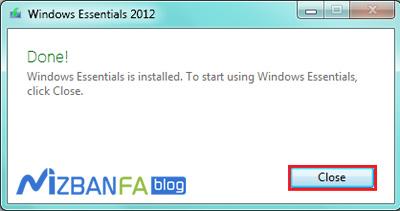 تنظیم Windows Live Mail و اتصال به هاست