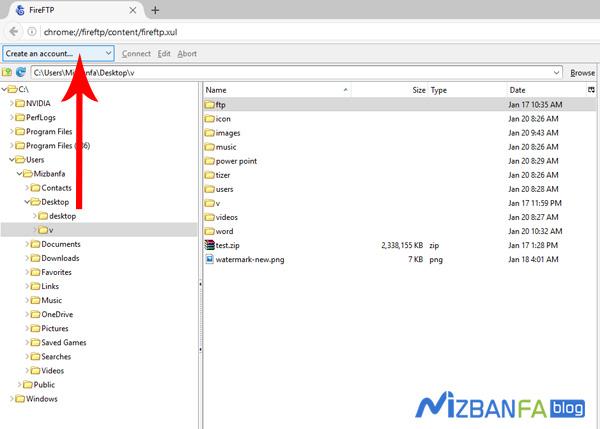 نحوه آپلود و مدیریت فایل ها در سی پنل از طریق sftp
