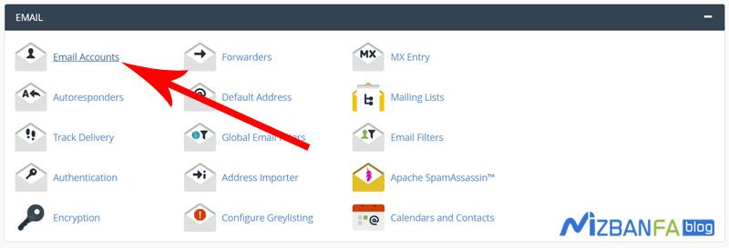 آموزش تنظیم ایمیل هاست در نرم افزار mail در ویندوز 10