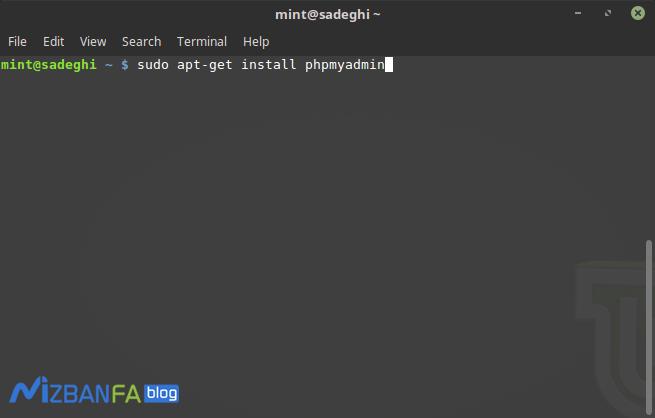 نصب phpmyadmin در لینوکس