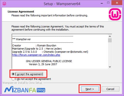 آموزش نصب wamp در ویندوز
