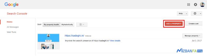 ثبت سایت وردپرسی در گوگل