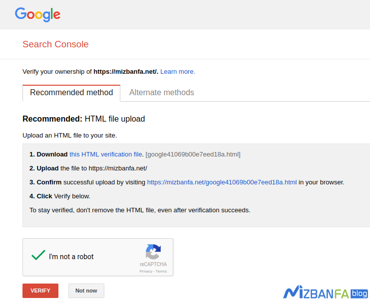 ثبت سایت در کنسول گوگل