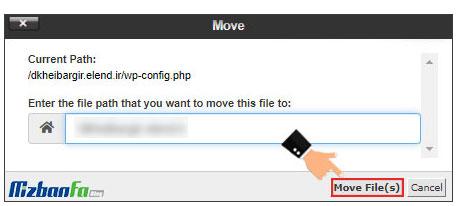 آموزش نحوه تغییر مسیر فایل wp-config.php