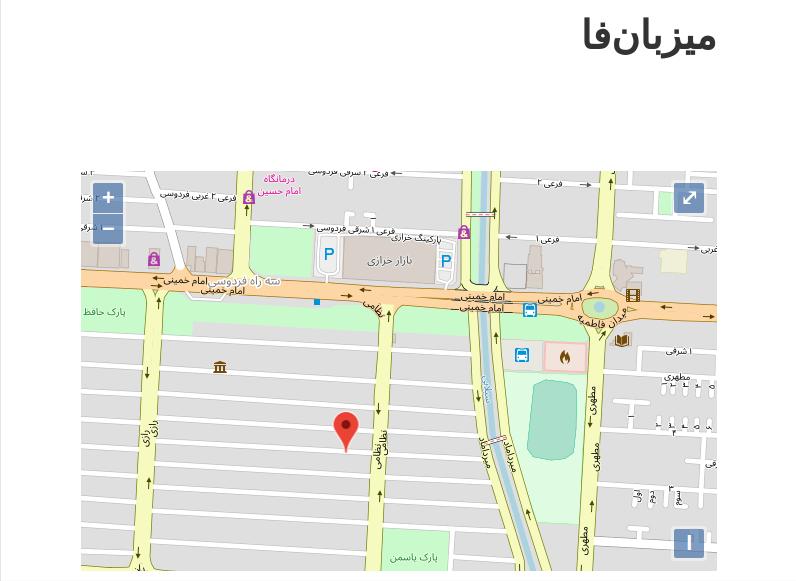 آموزش رفع مشکل عدم نمایش نقشه گوگل در دامنه IR وردپرس