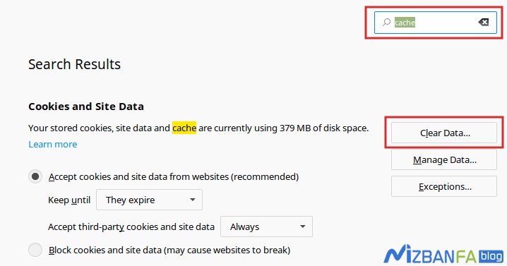 کش مرورگر چیست و چگونگی پاک کردن کش مرورگر فایرفاکس