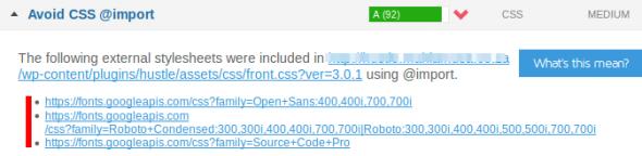 آموزش رفع خطای Avoid CSS @import در GTmetrix