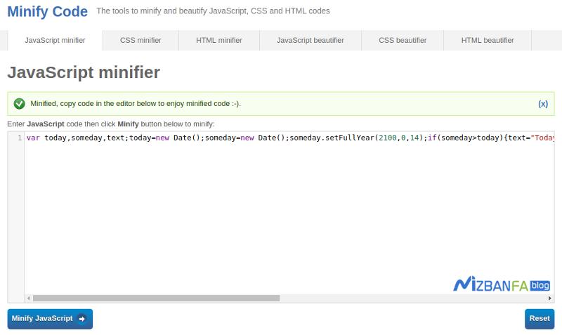 رفع خطای Minify JavaScript در GTmetrix و افزایش سرعت سایت
