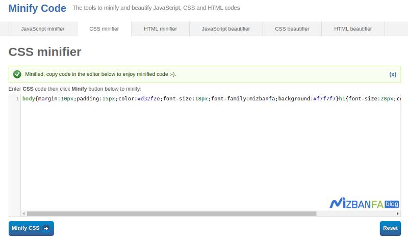 رفع خطای Minify CSS در GTmetrix و افزایش سرعت وردپرس