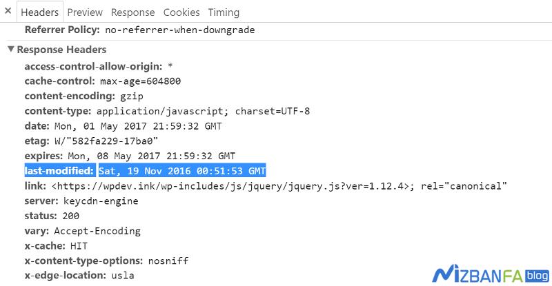 آموزش رفع خطای Specify a cache validator و Configure entity tags