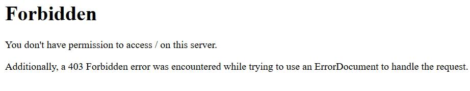 سفارشی سازی صفحات خطا