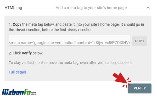 آموزش تصویری ثبت سایت در گوگل