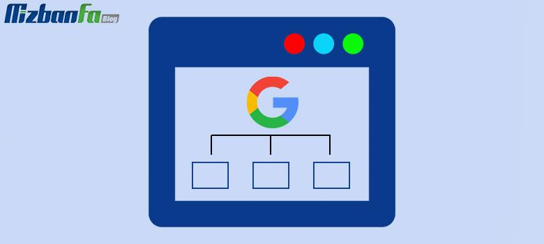 معرفی نقشه سایت به گوگل