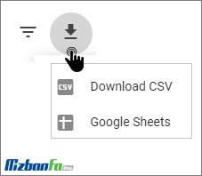گزارش سرعت گوگل وبمستر تولز