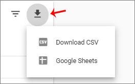 جدول گزارش گیری نسخه سایت در موبایل سرچ کنسول