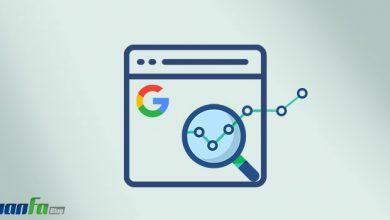 گزارش سرعت سرچ کنسول گوگل
