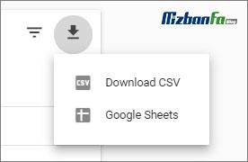 گزارش گیری از بخش logos سرچ کنسول گوگل