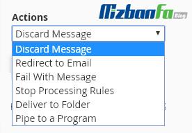 آموزش جلوگیری از ارسال ایمیل اسپم در سی پنل