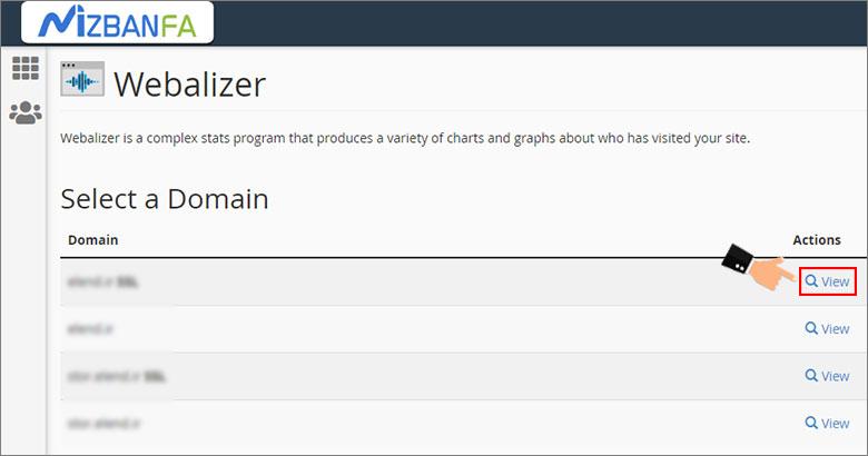 آموزش بخش webalizer سی پنل