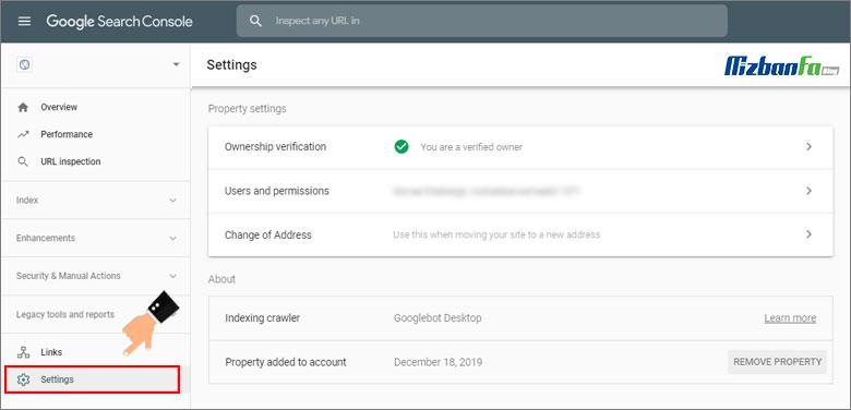آموزش کامل مدیریت کاربران در سرچ کنسول گوگل