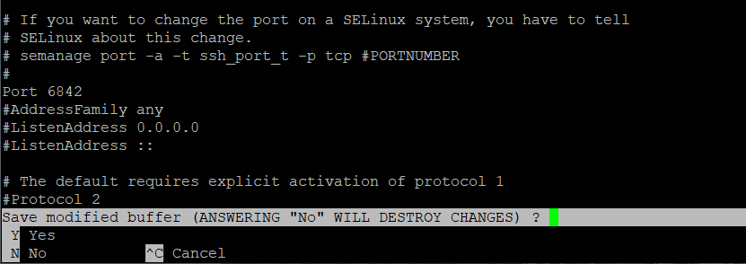آموزش تغییر پورت SSH