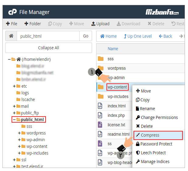 بازیابی اطلاعات وب سایت وردپرسی بدون از دست دادن اطلاعات