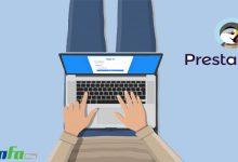 آموزش نحوه ورود به صفحه مدیریت پرستاشاپ