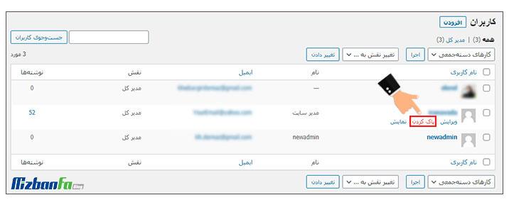 آموزش تغییر اسم نویسنده در وردپرس