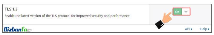 پیکربندی تنظیمات فعالسازی ssl در کلودفلر