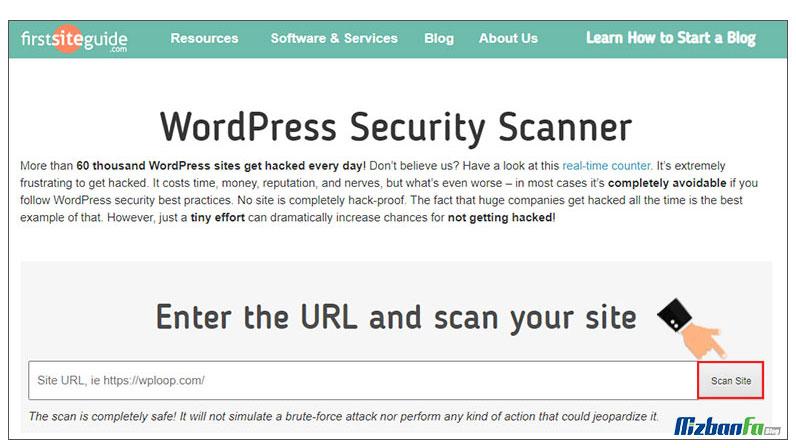 آموزش شناسایی کدهای مخرب در وردپرس با اسکن سایت