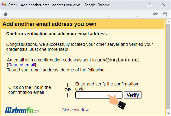 اتصال ایمیل هاست به جیمیل