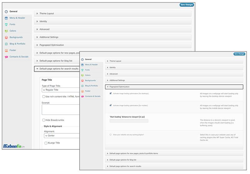 بهینه بودن قالب وردپرس چند منظوره گوهر برای موتورهای جستجو