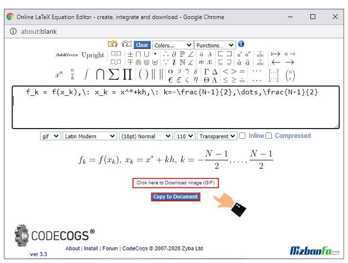 آموزش فرمول نویسی در وردپرس
