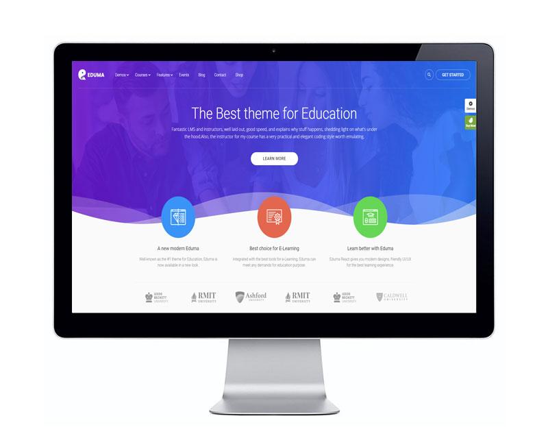 معرفی قالب آموزش آنلاین ادوما