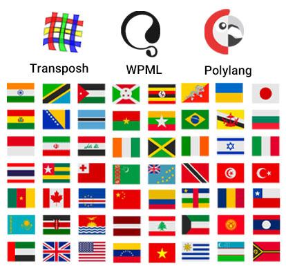 پشتیبانی قالب جم از زبان های دیگر
