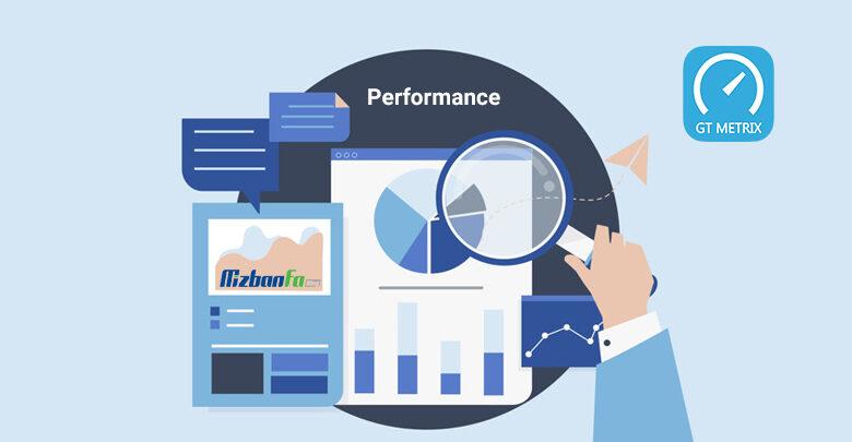 بررسی عملکرد سایت با زبانه Performance جیتی متریکس
