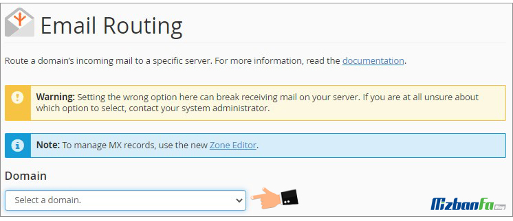 مشکل اتصال به سرور ایمیل
