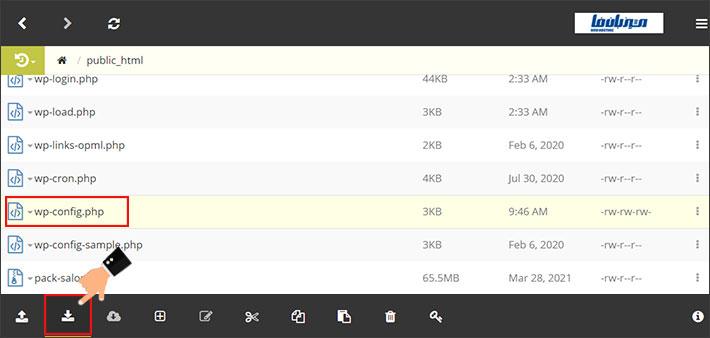 دانلود فایل از طریق ftp client