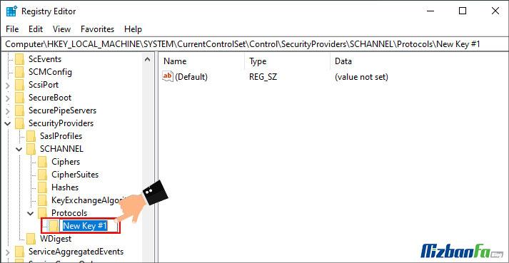 نحوه فعال سازی TLS 1.2 در ویندوز 7