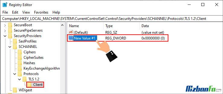 نحوه فعالسازی TLS 1.2 در ویندوز 7