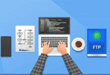 آموزش نحوه اتصال اکانت ftp به نرم افزار atom