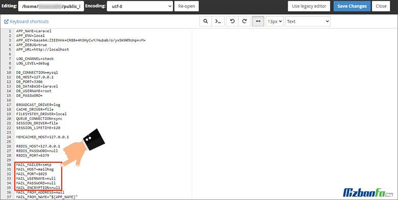 آموزش نحوه ارسال ایمیل در لاراول