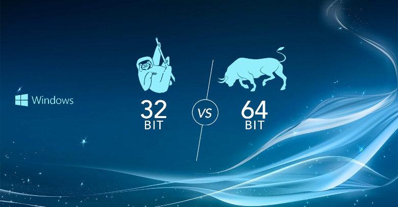 فرق بین ویندوز 32 بیت و 64 بیت چیست؟