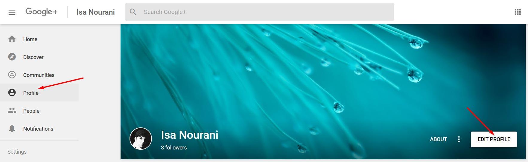 آموزش ساخت صفحه اختصاصی گوگل پلاس