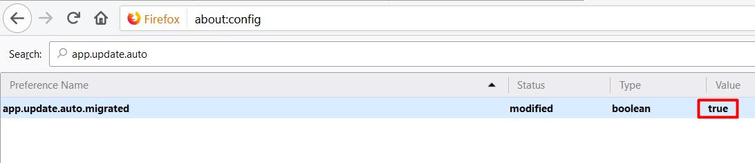 غیرفعال کردن آپدیت فایرفاکس